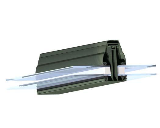 Exceptional profile aluminium pour veranda 3 3d toiture - Profile alu pour veranda ...