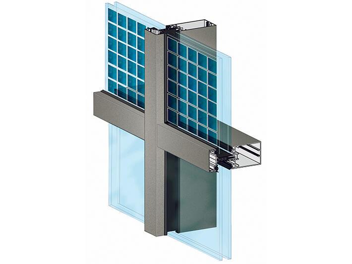 Mur-rideau photovoltaïque Tanagra - Mur rideau alu - Menuiserie alu ...