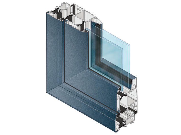 Toundra khan thermal break aluminum windows 318 series for Thermal windows prices