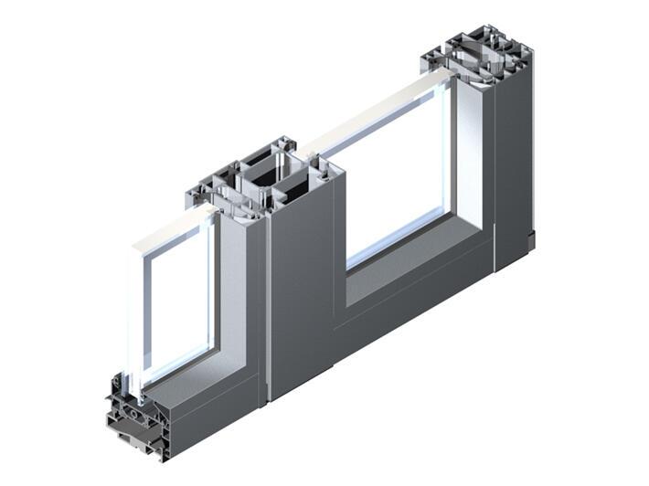 Satin Moon Aluminium Door Traditional Doors Doors Aluminum - Porte aluminium