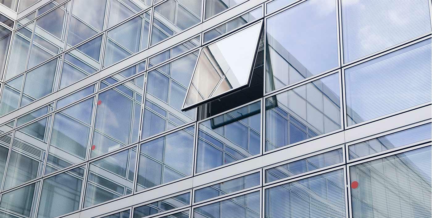 uus passage aluminum facade facades aluminum joineries profils systemes en. Black Bedroom Furniture Sets. Home Design Ideas