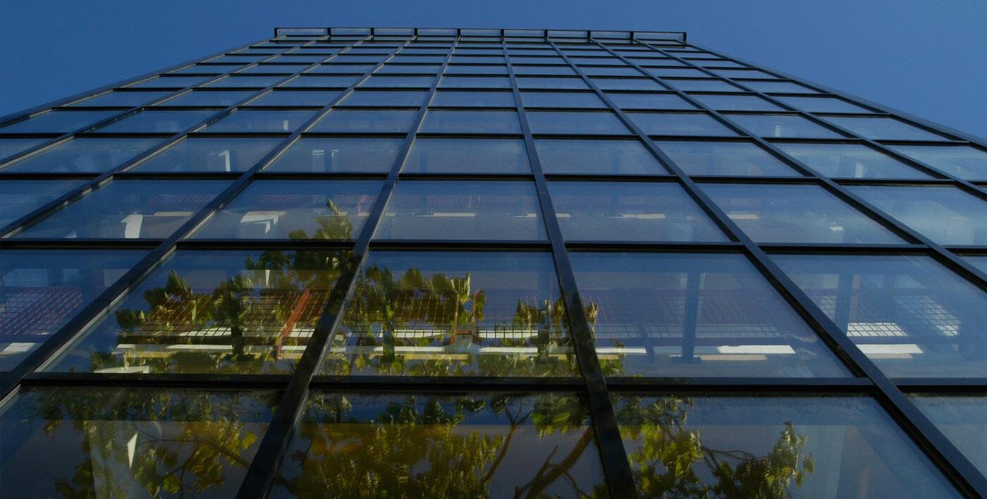 Mur-rideau aluminium Tanagra - Mur rideau alu - Menuiserie alu ...