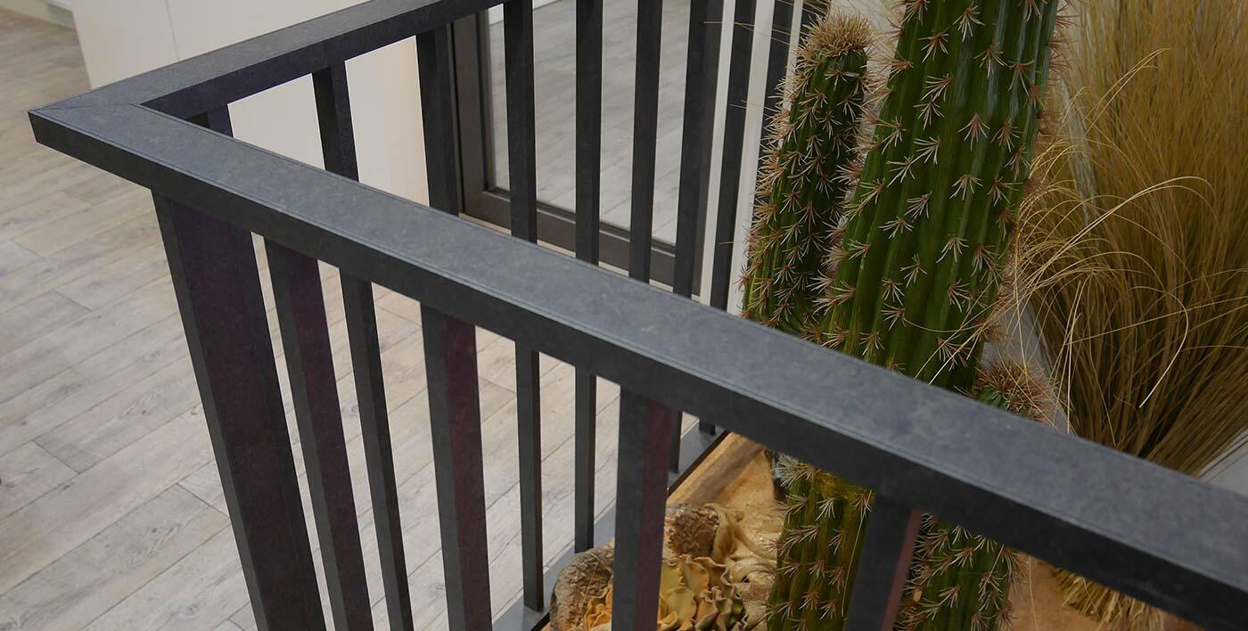 Garde corps aluminium macassar garde corps barri res - Garde corps pour muret ...
