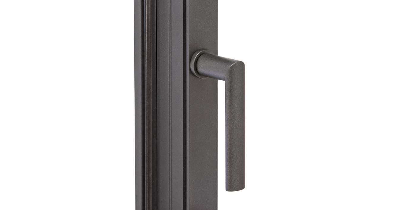 poign e sans embase canberra fen tre alu menuiserie alu profils systemes. Black Bedroom Furniture Sets. Home Design Ideas