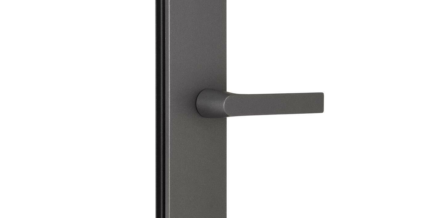 Poignée Porte Sans Embase Design Galbé