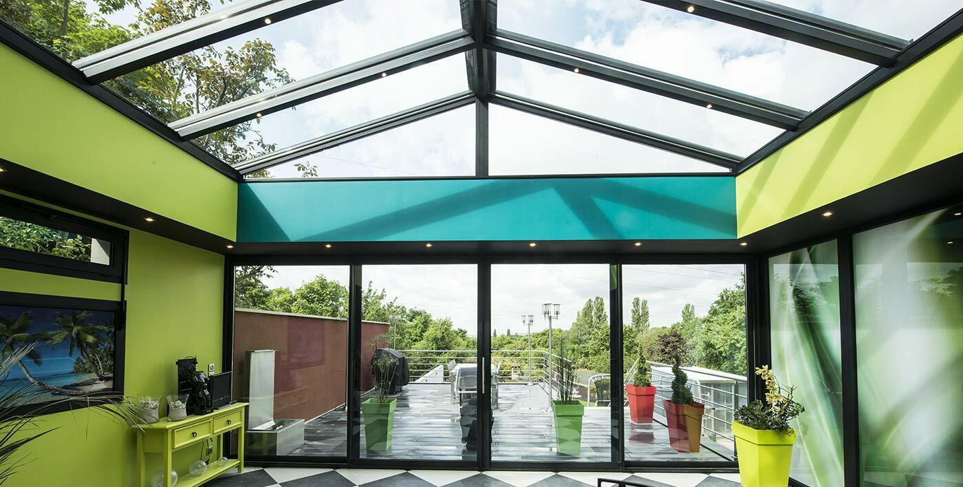 Veranda Metal Et Verre wallis& aluminum sunroom roofing - véranda: la solution